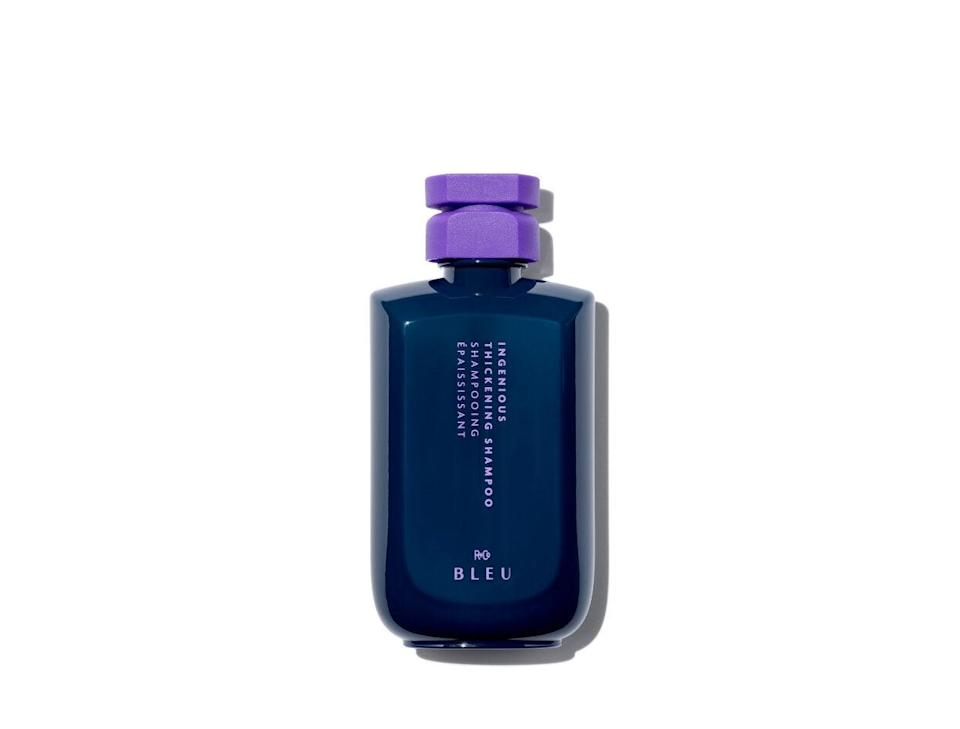 """<h2>R+Co Bleu Ingenious Thickening Shampoo</h2><br><strong>Best Luxe</strong><br><br>If you love a good splurge, you won't do better than this thickening formula from R+Co's prestige range. """"This one is so luxurious and achieves incredible results,"""" says Toth.<br><br><strong>R+Co Bleu</strong> Ingenious Thickening Shampoo, $, available at <a href=""""https://go.skimresources.com/?id=30283X879131&url=https%3A%2F%2Fwww.violetgrey.com%2Fproduct%2Fingenious-thickening-shampoo%2FRCO-B1SHTHS01A1%3F"""" rel=""""nofollow noopener"""" target=""""_blank"""" data-ylk=""""slk:Violet Grey"""" class=""""link rapid-noclick-resp"""">Violet Grey</a>"""