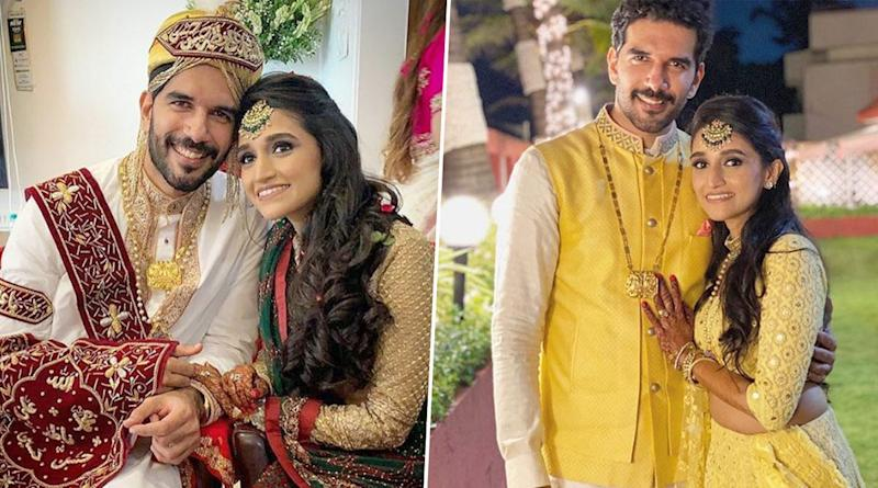 Taher Shabbir And Akshita Gandhi Tie the Knot, Bepannaah Actor Shares Stunning Pics From His Wedding!