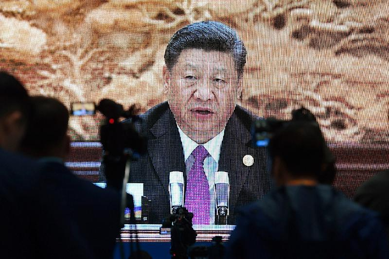 Xi Jinping's signature foreign policy aims to reinvent the ancient Silk Road to connect Asia to Europe and Africa (AFP Photo/GREG BAKER)