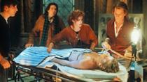 """<p><strong><em>Flatliners</em></strong></p><p>In an attempt to discover what lies after death, five medical students experiment with flatlining — but their research traveling to the other side holds dire supernatural consequences.<br></p><p><a class=""""link rapid-noclick-resp"""" href=""""https://www.amazon.com/Flatliners-Kiefer-Sutherland/dp/B0027ZAP1K/?tag=syn-yahoo-20&ascsubtag=%5Bartid%7C10055.g.29120903%5Bsrc%7Cyahoo-us"""" rel=""""nofollow noopener"""" target=""""_blank"""" data-ylk=""""slk:WATCH NOW"""">WATCH NOW</a></p>"""