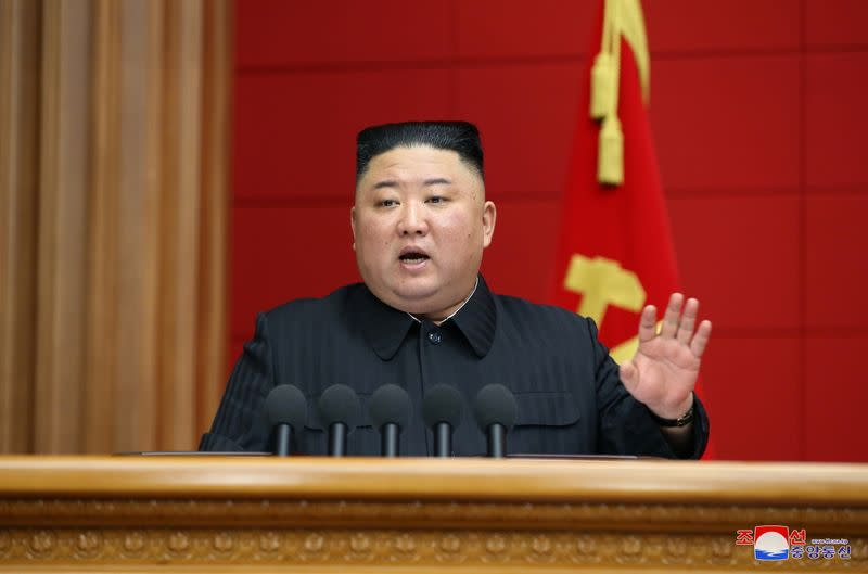 North Korea's leader Kim Jong Un attends first short course for chief secretaries of the city and county Party committees in Pyongyang