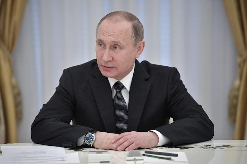 "Russian President Vladimir Putin warned of future chemical weapons ""provocations"" in Syria that would be used to frame Kremlin ally Bashar al-Assad"