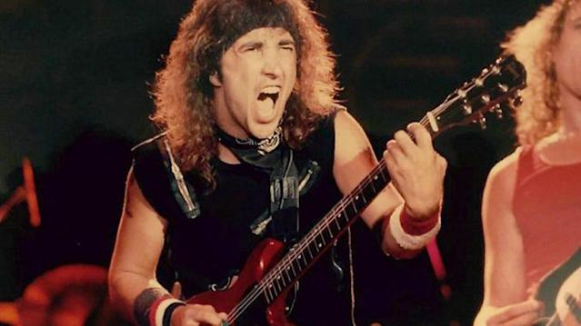 <p>Joey Alves was the the rhythm guitarist with veteran hard-rock group Y&T. He died March 12 from ulcerative colitis and other health complications. He was 63.<br> (Photo: Rockrol) </p>