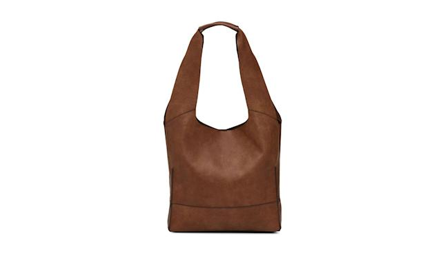 "<p>Grained faux-leather tote, $64, <a href=""https://www.simons.ca/en/women-accessories/bags/tote-bags/grained-faux-leather-tote--3709-1312841?colourID=24&utm_source=polyvore&utm_medium=cpc_desktop&utm_campaign=tote%20bags#zoom"" rel=""nofollow noopener"" target=""_blank"" data-ylk=""slk:simons.ca"" class=""link rapid-noclick-resp"">simons.ca</a> </p>"