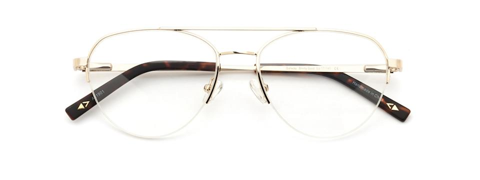 Main And Central Galway-53 - gold aviator-style glasses