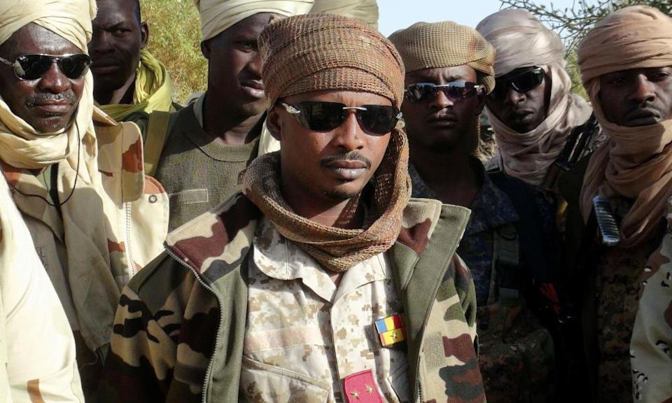Mahamat Idriss Déby Itno, who now leads a transitional military council in Chad.
