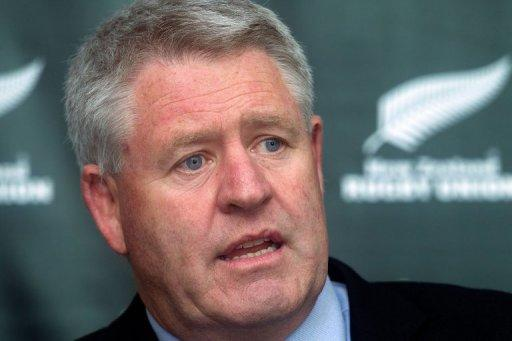 New Zealand rugby union CEO Steve Tew