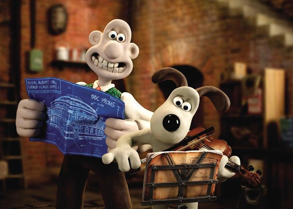 Wallace and Gromit are known throughout the world for their antics, usually involving Wallace's inventions (Aardman Animations Ltd/PA) (PA Media)