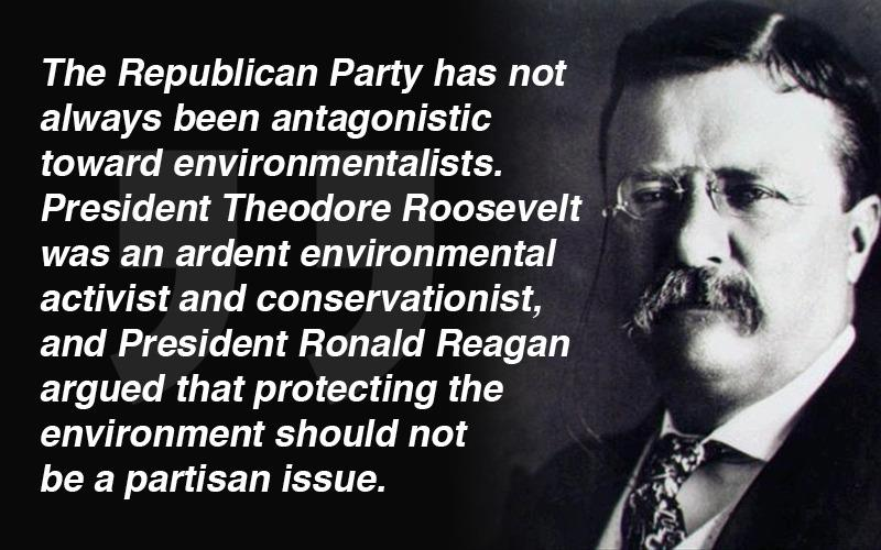 Image result for republican environmentalist