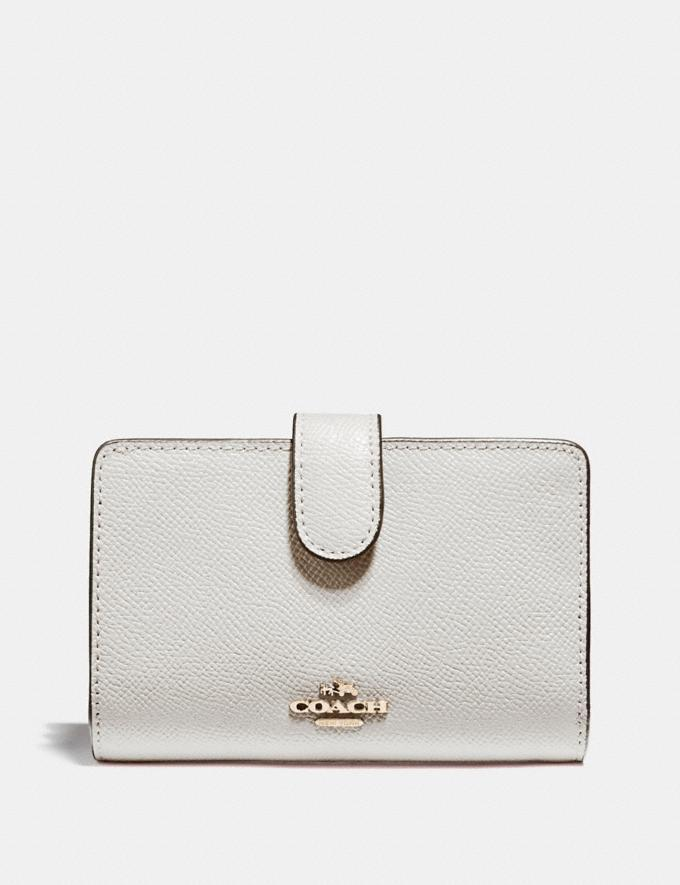Medium Corner Zip Wallet is on sale at Coach Outlet, $50 (originally $168).