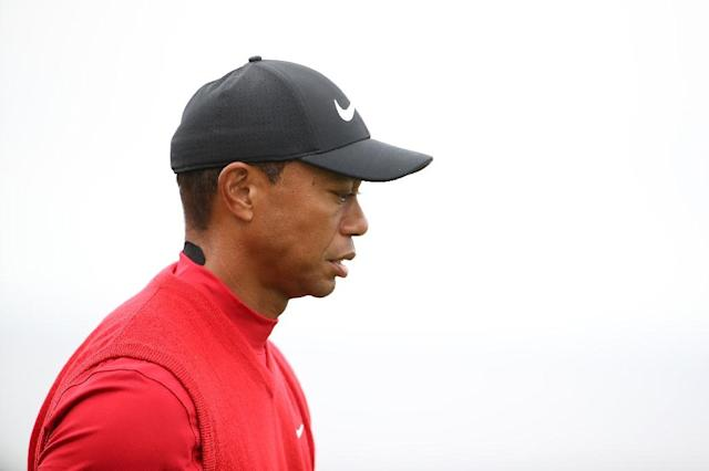 Golfer Tiger Woods is no longer named in a suit related to the drunk-driving death of a man who works at his Florida restaurant (AFP Photo/Christian Petersen)