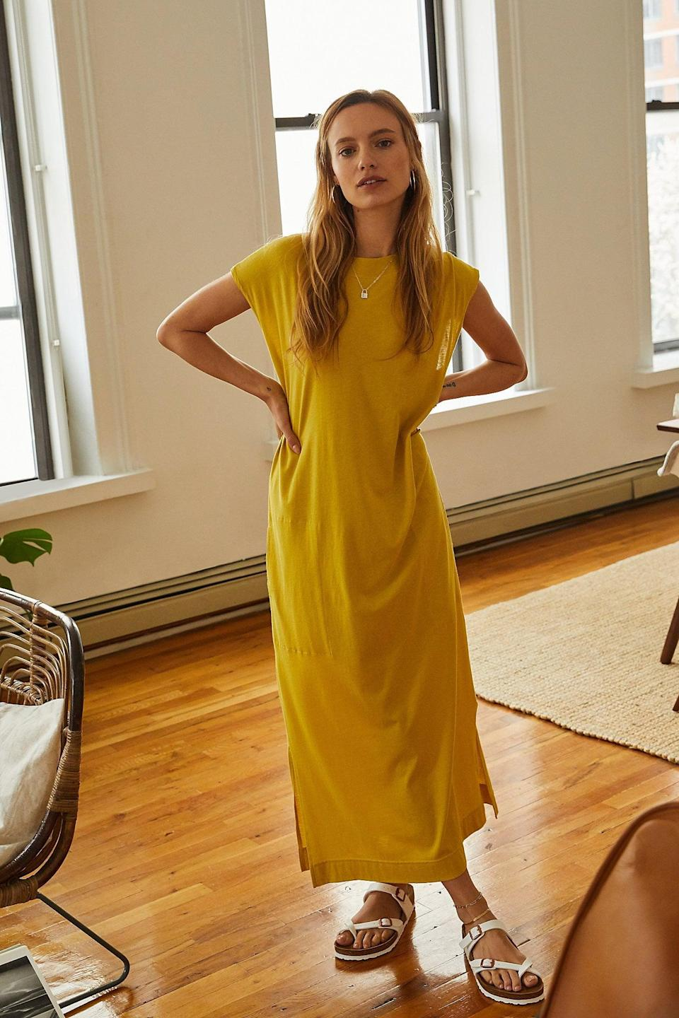 "<p>This <a href=""https://www.popsugar.com/buy/All-Day-Long-Midi-T-Shirt-Dress-571537?p_name=All%20Day%20Long%20Midi%20T-Shirt%20Dress&retailer=freepeople.com&pid=571537&price=50&evar1=fab%3Aus&evar9=47449058&evar98=https%3A%2F%2Fwww.popsugar.com%2Ffashion%2Fphoto-gallery%2F47449058%2Fimage%2F47449380%2FAll-Day-Long-Midi-T-Shirt-Dress&list1=shopping%2Cdresses%2Cspring%20fashion%2Csummer%20fashion%2Cfashion%20shopping&prop13=mobile&pdata=1"" class=""link rapid-noclick-resp"" rel=""nofollow noopener"" target=""_blank"" data-ylk=""slk:All Day Long Midi T-Shirt Dress"">All Day Long Midi T-Shirt Dress</a> ($50) is one of our faves.</p>"