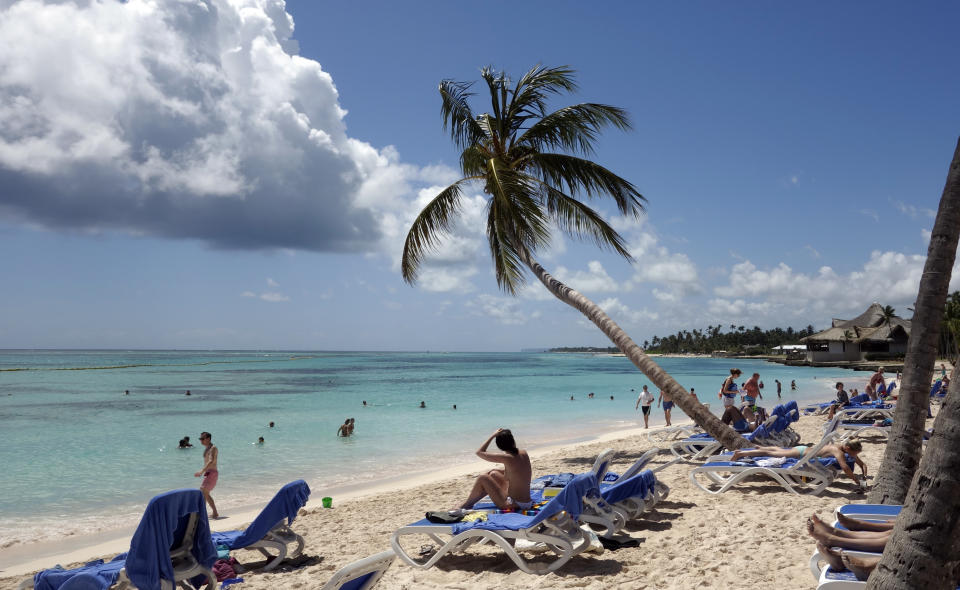 General view of the beach at the Club Med Punta Cana vacation resort in the Dominican Republic, February 29, 2016.   REUTERS/Charles Platiau