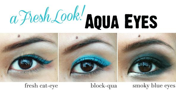 Feeling Blue: How To Wear Aqua Eyeshadow