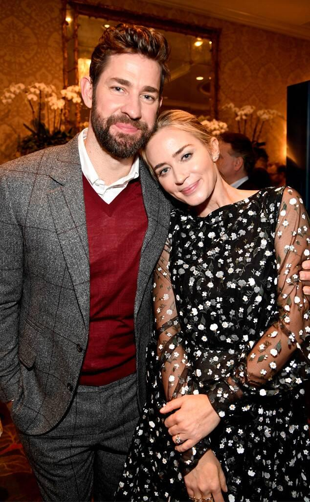 John Krasinski, Emily Blunt, BAFTA Los Angeles Tea Party 2019