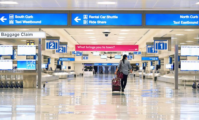 Traffic at Sky Harbor International Airport in Phoenix has plummeted since the novel coronavirus began spreading across the United States.