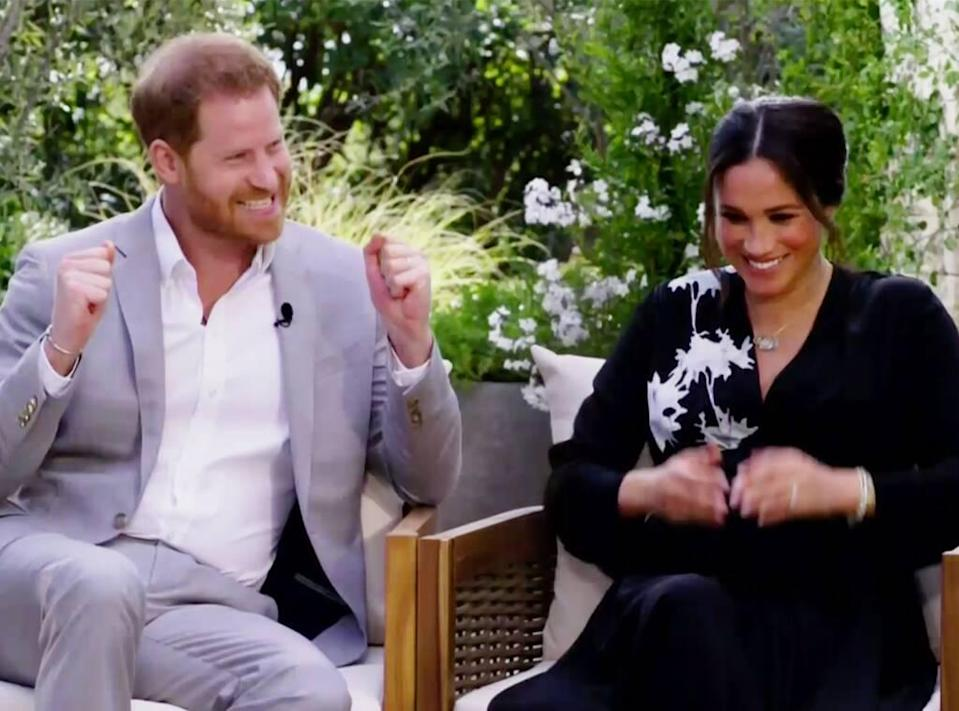 Meghan Markle, Prince Harry, Oprah Interview