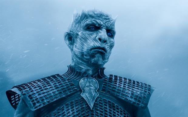 The Night King met his end during the Battle of Winterfell in the eighth season of 'Game of Thrones'. (Credit: HBO)