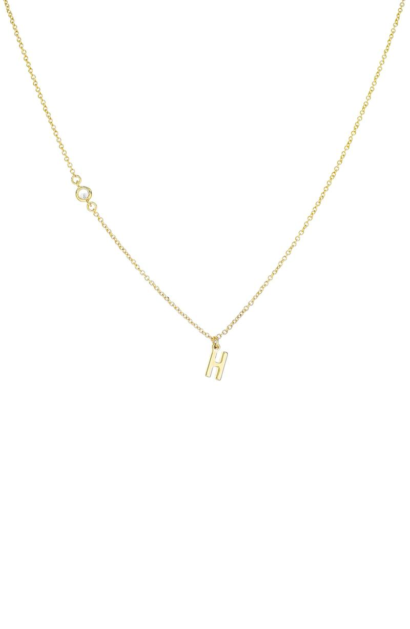 PANACEA Initial Pendant Necklace