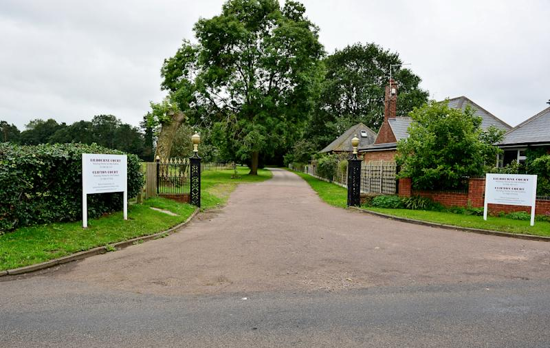 The nursing home is in Rugby, Warwickshire (SWNS)