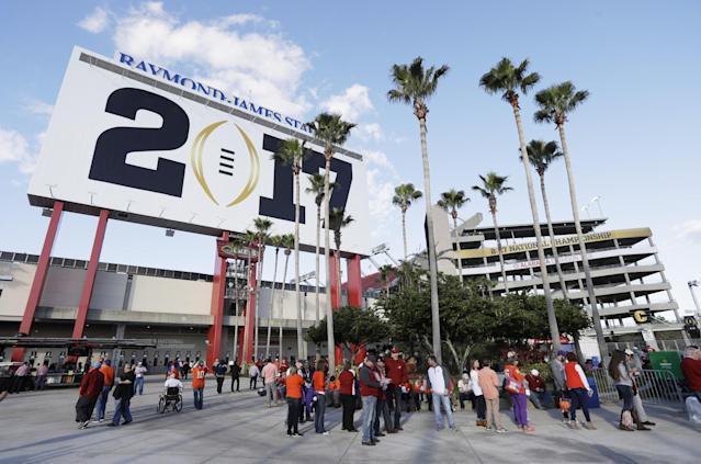 ESPN and the College Football Playoff will welcome a marquee halftime performer for next year's title game. (AP)