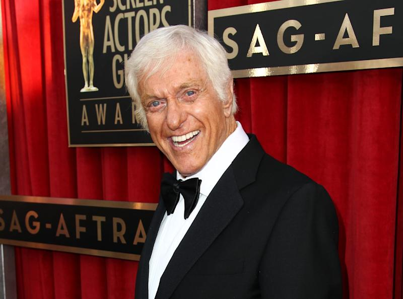 "FILE - This Jan. 27, 2013 file photo shows actor Dick Van Dyke at the 19th Annual Screen Actors Guild Awards at the Shrine Auditorium in Los Angeles. Van Dyke is undergoing tests for ""cranial throbbing"" that's causing him to lose sleep. Spokesman Bob Palmer said Thursday the 87-year-old Van Dyke has been experiencing a throbbing sensation in his head when lying down. Scans and other tests have yet to yield a diagnosis, Palmer said. (Photo by Matt Sayles/Invision/AP, file)"