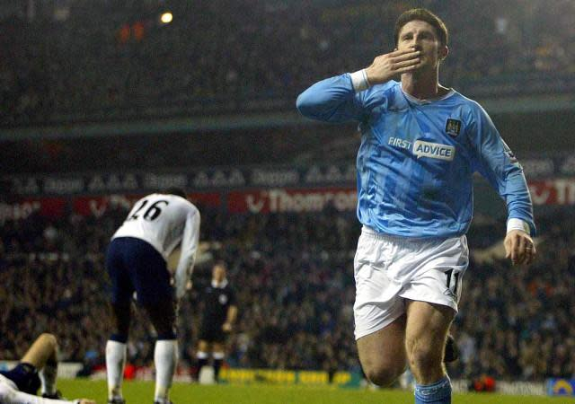 <p>2004: Tottenham Hotspur 3 Manchester 4: Spurs led 3-0 in an amazing FA Cup clash at White Hart Lane that also Joey Barton sent off after the referee blew for half time. But 10-man City fought back to win, Jon Macken snatching an amazing injury-time winner </p>