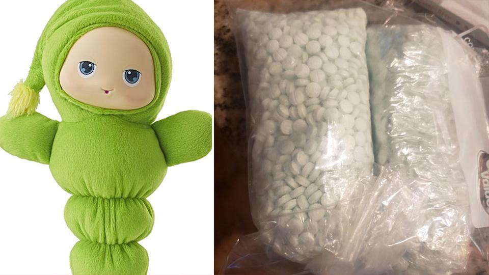 A family found 5000 pills in a second-hand toy. Source: Twitter/Phoenix Police