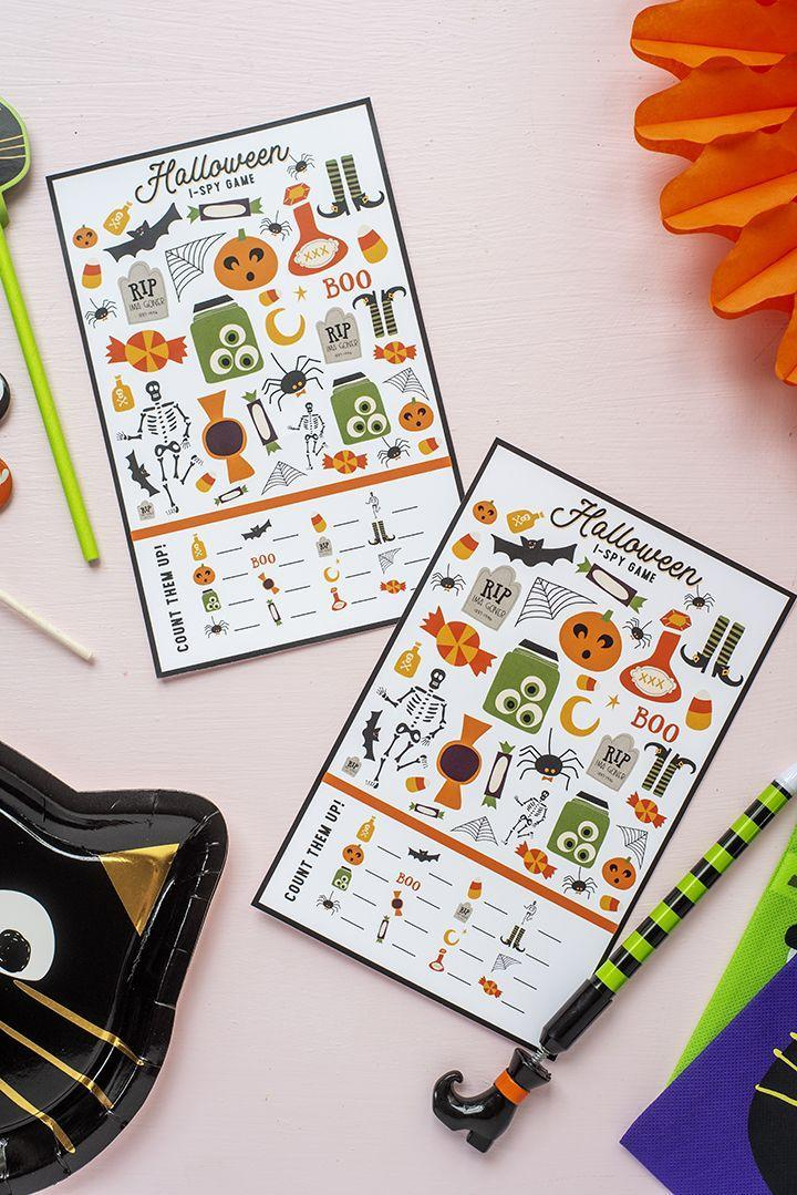 """<p>These fun Halloween-edition """"I Spy"""" games are the easiest ways to keep the kids occupied — and the best part is that all you have to do is print them out. <br></p><p><em><a href=""""https://www.aliceandlois.com/free-printable-halloween-i-spy-game/"""" rel=""""nofollow noopener"""" target=""""_blank"""" data-ylk=""""slk:Get a free printable at Alice & Lois »"""" class=""""link rapid-noclick-resp"""">Get a free printable at Alice & Lois »</a></em> </p>"""