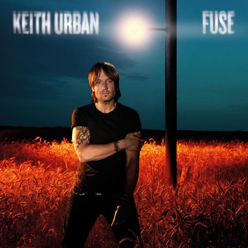 """This CD cover image released by Capitol Nashville shows """"Fuse,"""" the latest release by Keith Urban. (AP Photo/Capitol Nashville)"""