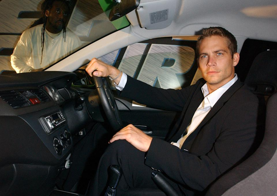 Actor Paul Walker at the 2 Fast 2 Furious party in Poland Street, London.