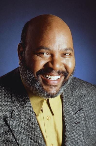 """This photo provided by NBC shows James Avery as Philip Banks from season 2 of the TV series, """"The Fresh Prince of Bel-Air."""" Avery, 65, the bulky character actor who laid down the law as the Honorable Philip Banks has died. Avery's publicist, Cynthia Snyder, told The Associated Press that Avery died Tuesday, Dec. 31, 2013. (AP Photo/NBC, Paul Drinkwater)"""