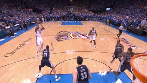 Kevin Durant's clutch late jumper pushes Thunder past Grizzlies for Game 1 win (Video)