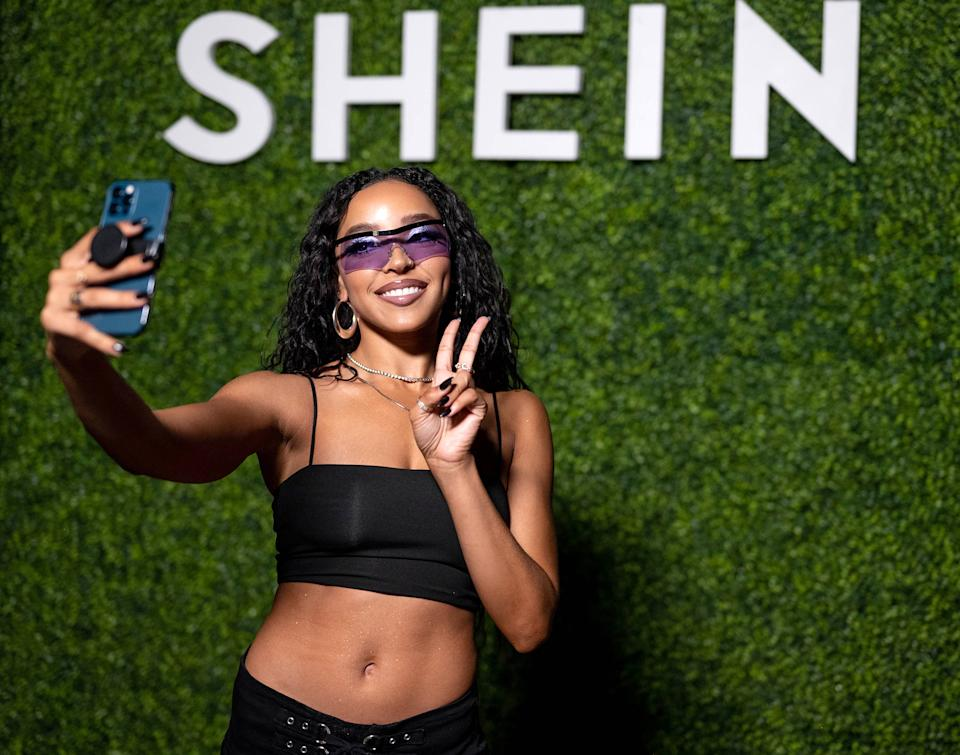 LOS ANGELES, CALIFORNIA - MAY 02: In this image released on May 02, 2021, Tinashe attends SHEIN Together Fest 2021 in Los Angeles, California. (Photo by Emma McIntyre/Getty Images for SHEIN Together Fest 2021)