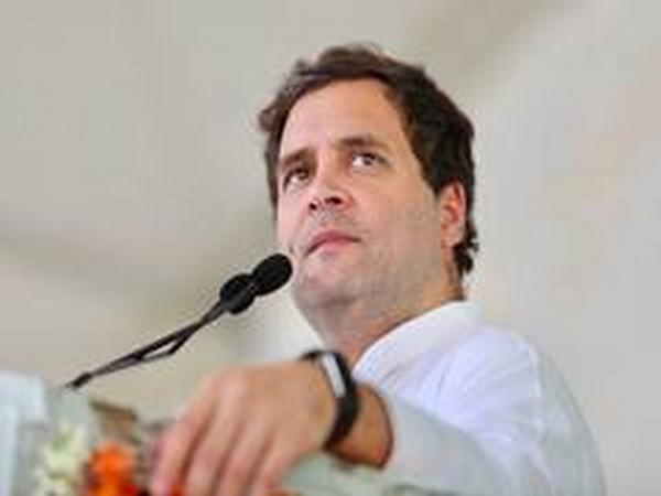Congress leader Rahul Gandhi. (File pic)