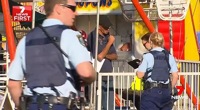 In the last two years, 81 rides were given safety improvement notices but 17 were so dangerous they were closed down or good. Photo: 7 News