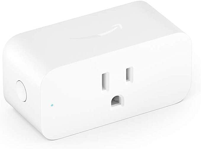 <p>Turn your appliances and outlets smart with this <span>Amazon Smart Plug</span> ($25). Schedule lights, fans, and appliances to turn on and off automatically, or control them remotely when you're away</p>