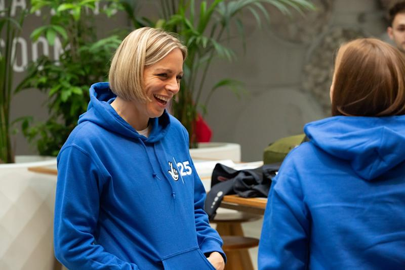 Former Great Britain hockey captain Kate Richardson-Walsh was speaking at a National Lottery event in Stratford