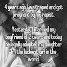 <p>Another woman's boyfriend decided to legally adopt her child. <i> (Photo: Whisper) </i> </p>