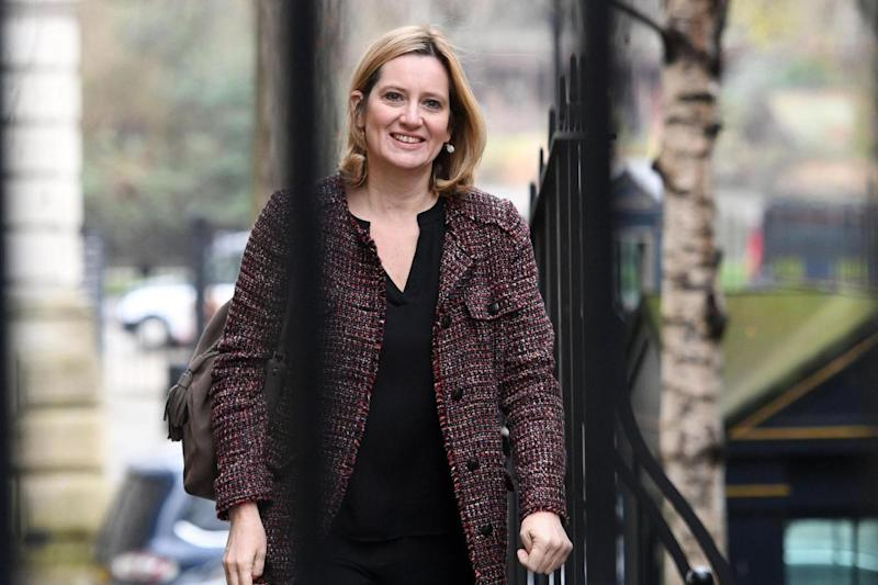 Meetings: Home Secretary Amber Rudd. (PA)