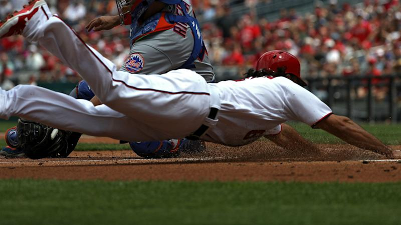 Anthony Rendon drives in 10 of Nationals' 23 runs in history-making blowout vs. Mets