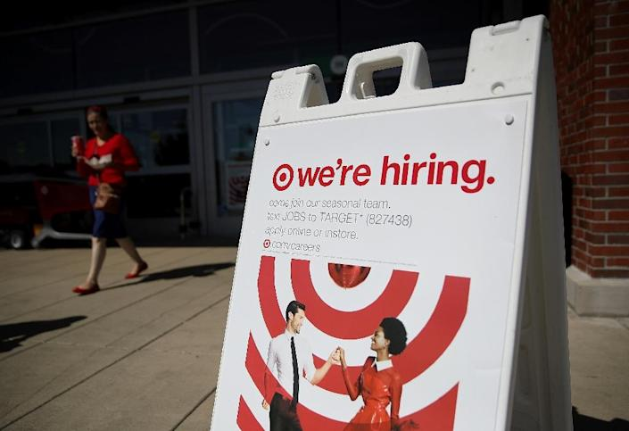The US economy continues to add jobs at a rapid pace, beating analysts expectations in February, but the figures skewed a bit higher due to some distorsion from seasonal adjustment factors (AFP Photo/JUSTIN SULLIVAN)