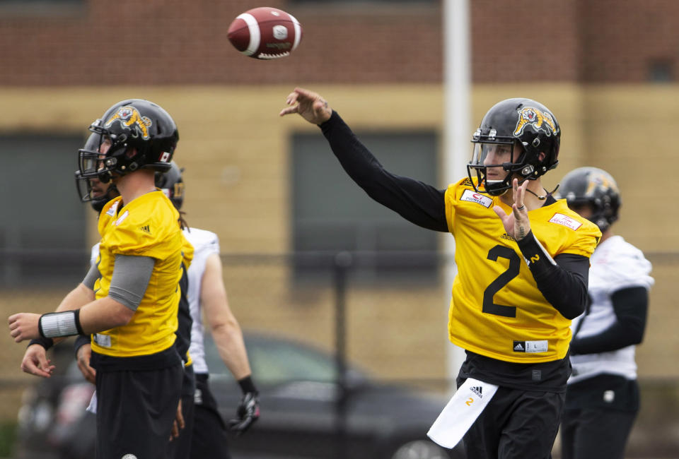 Johnny Manziel could use his stint in the CFL to prove he's still good enough for the NFL, with several team executives hoping he matures on and off the field. (AP)