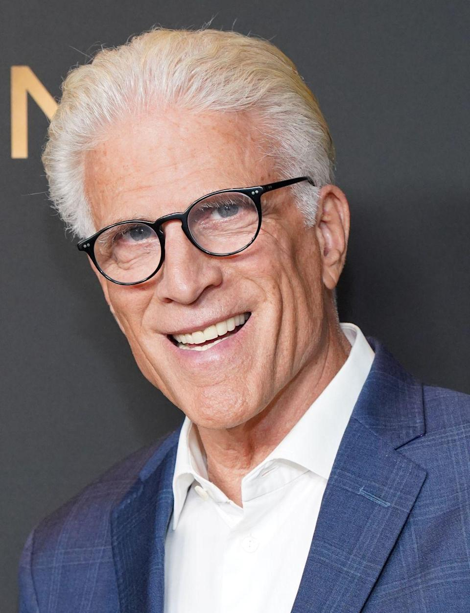 <p>The actor has made a television comeback on NBC's <em>The Good Place </em>in recent years and not much has changed about the actor, except his white-gray head of hair. </p>