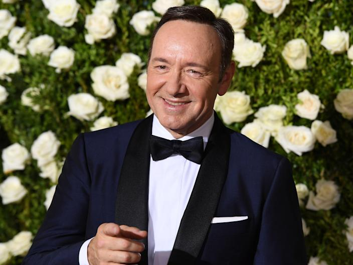 Spacey in 2017 (AFP via Getty Images)