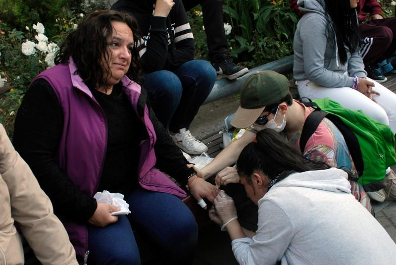 Chilean doctors hit the streets amid violent protests