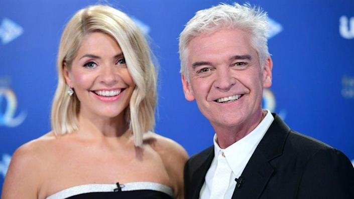 Holly Willoughby y Phillip Schofield