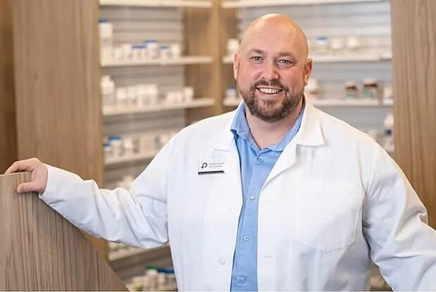 Andrew Drover is the owner of Harrisville Pharmacy in Moncton.