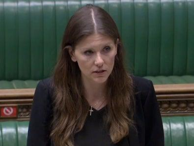 Michelle Donelan said public health was also key to government's plans over a full university return (Parliament TV)
