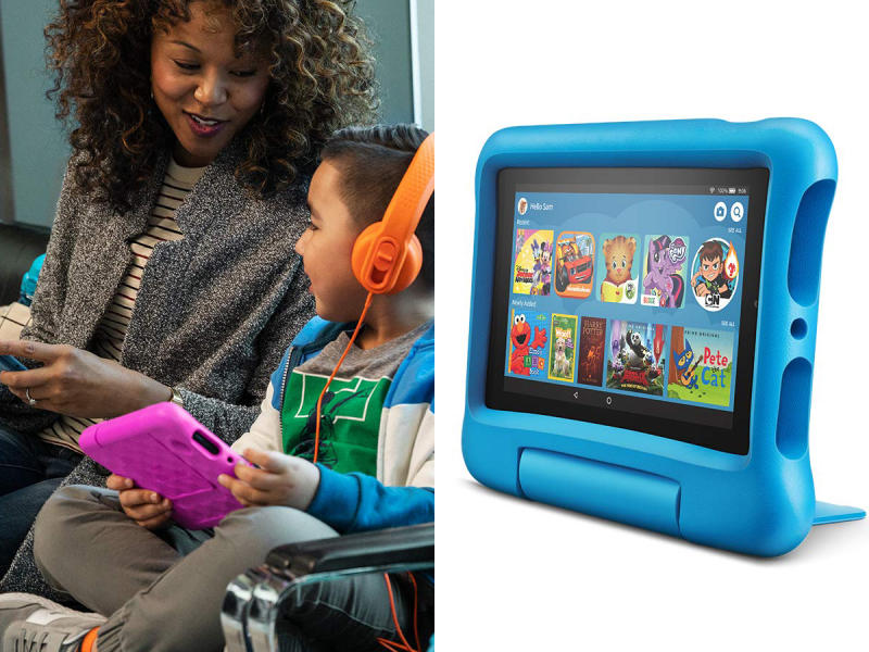 The New Kid's Fire Tablet From Amazon Is Every Parent's